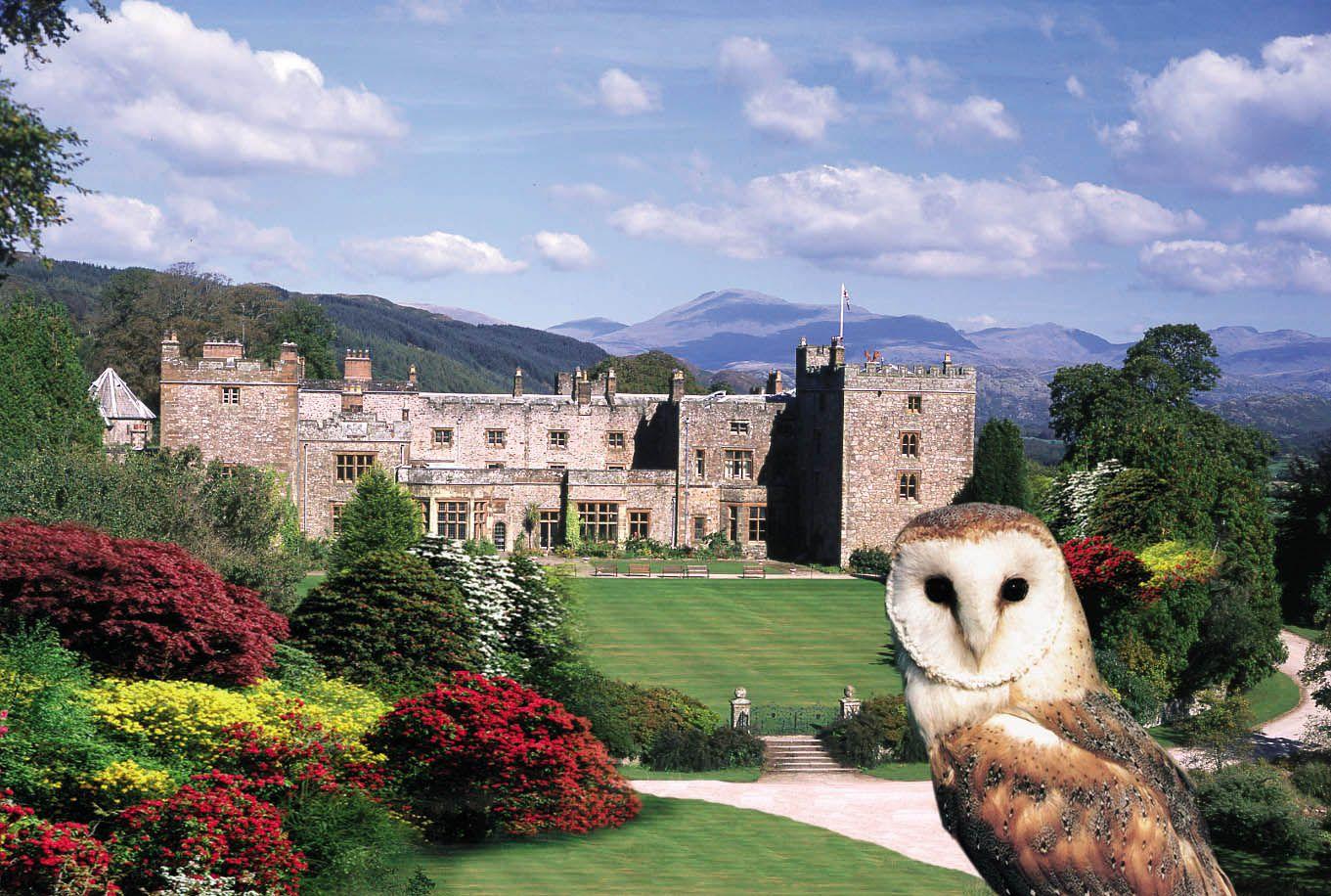 Muncaster Castle near Ravenglass