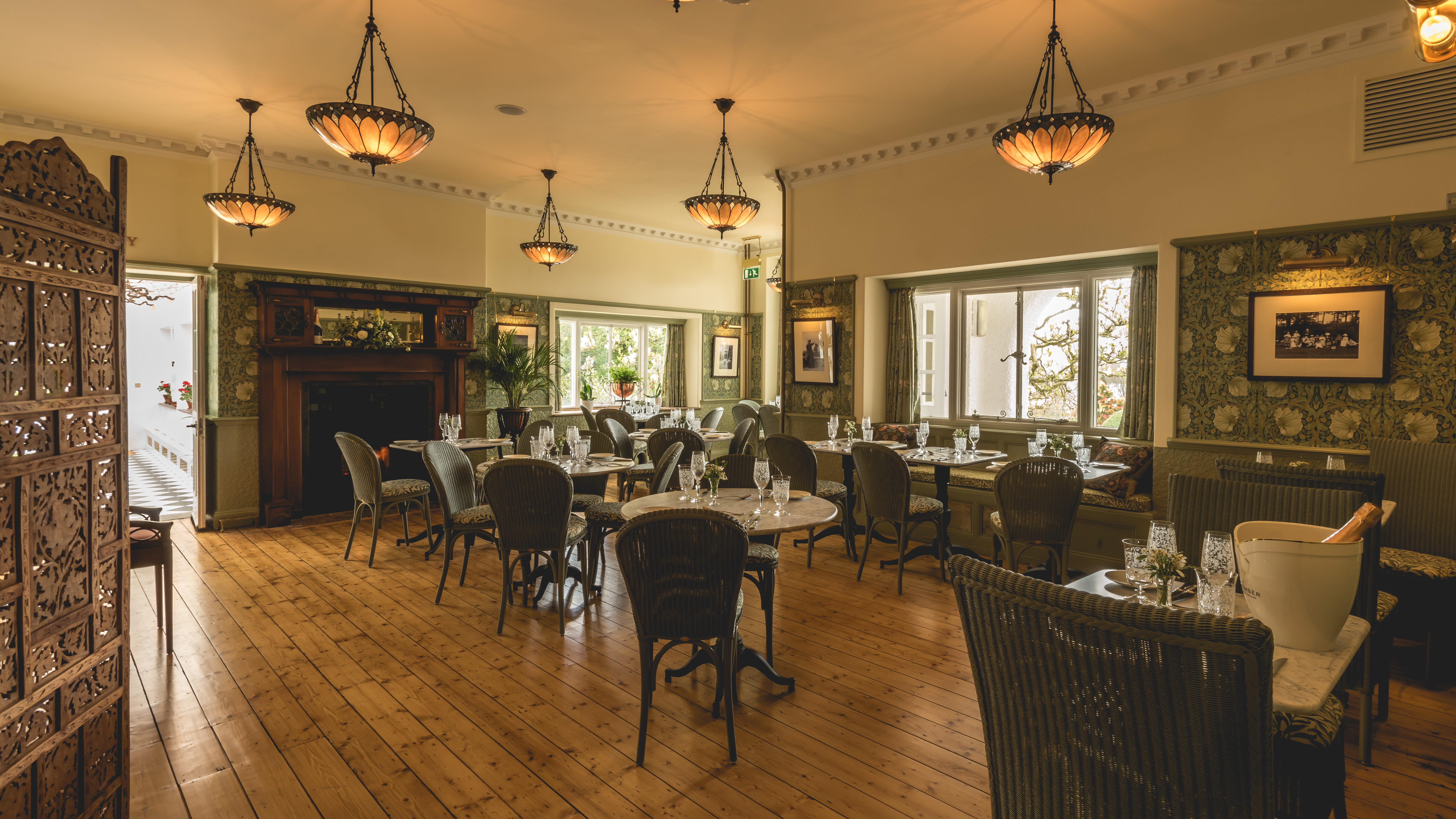 Brockhole's Gaddum Restaurant opens on a fine spring evening