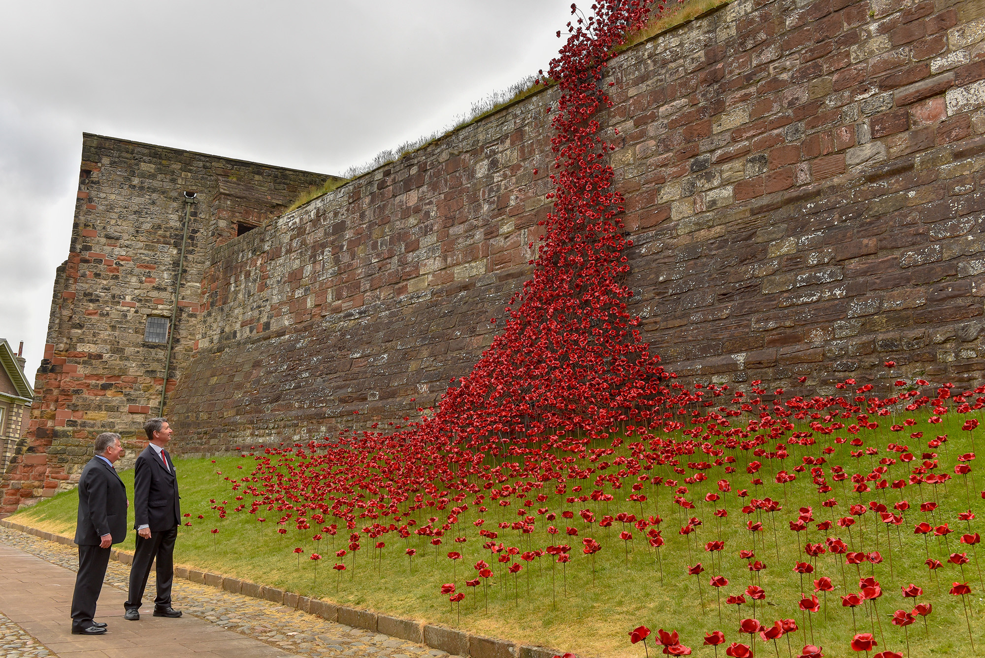 The iconic poppy sculpture: Weeping Window