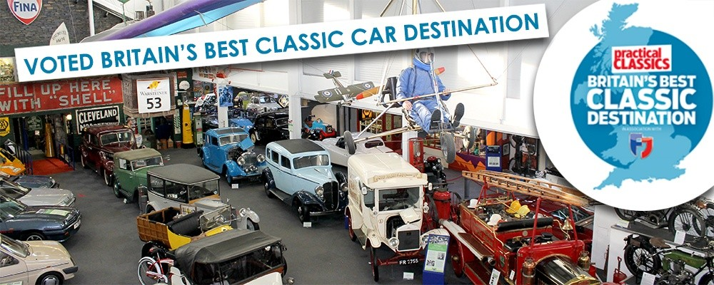 Lakeland Motor Museum named Britain's BEST classic car destination.