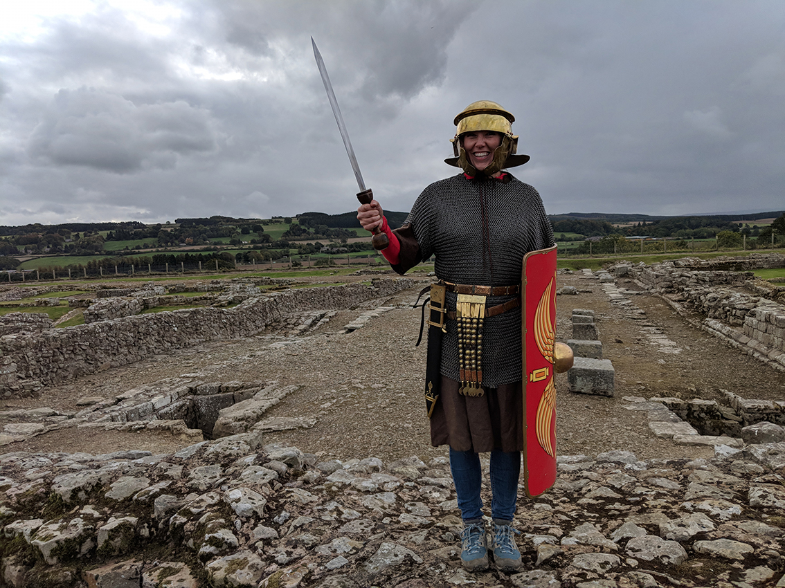 Discover Hadrian's Wall with CBEEBIES star Maddie Moate