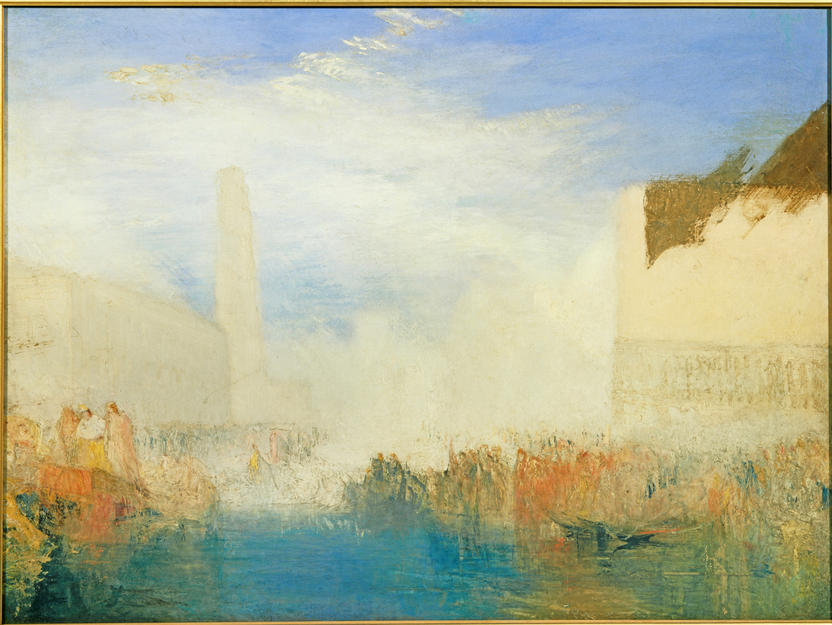 Turner's painting once again grace the walls of Ruskin's home at Brantwood