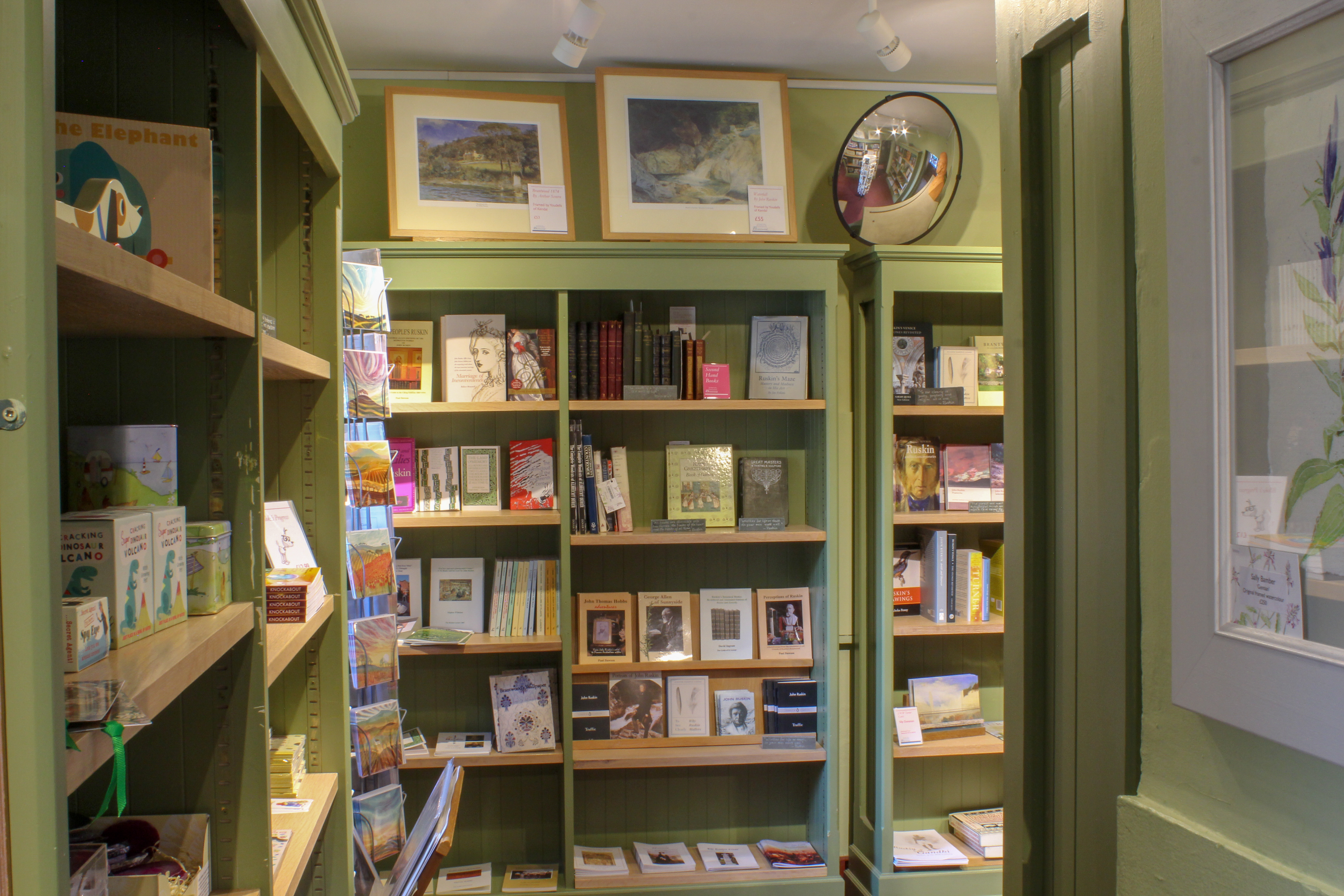 Brantwood- Bookshop of the month