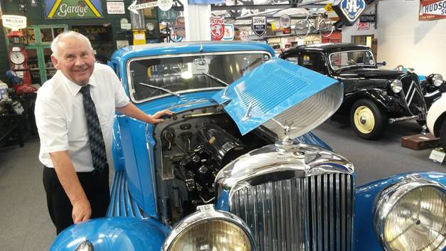 Familiar face Edwin steps down from  Lakeland Motor Museum to enjoy retirement