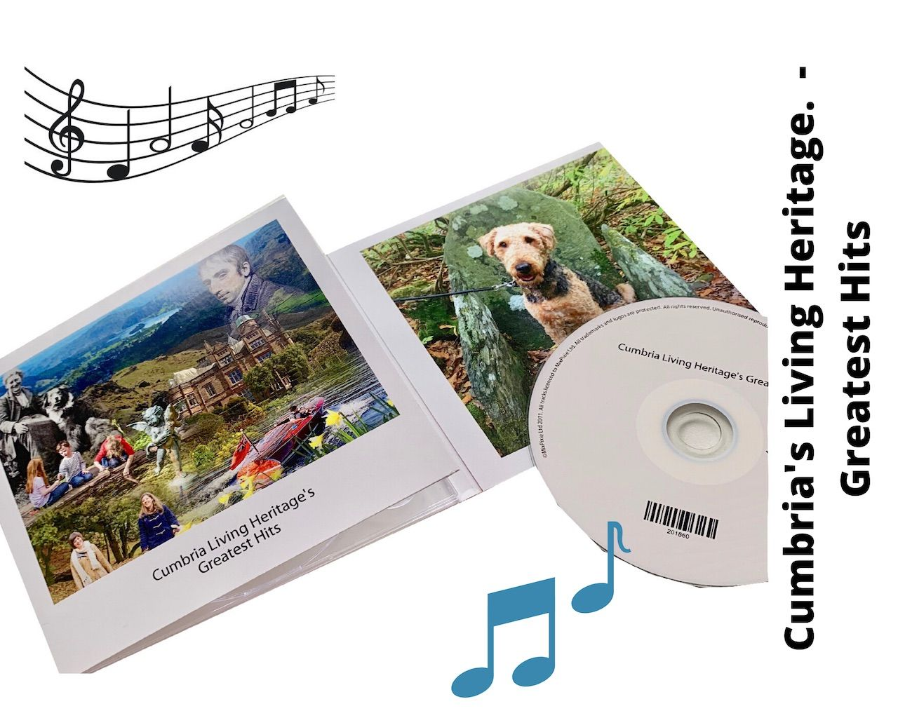 Listen to our new CD to plan your future visits