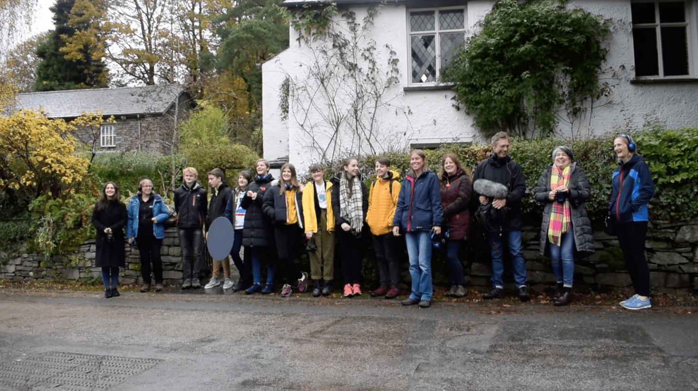 Cumbria Young Composers celebrate Wordsworth's 250th anniversary with new piece online.