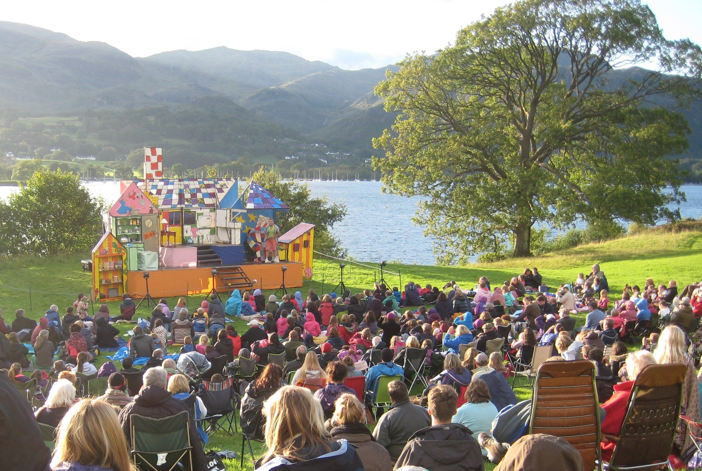 Longer summer days means outdoor theatre and summer shows.